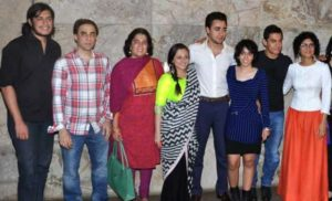 Aamir Khan Family Photos