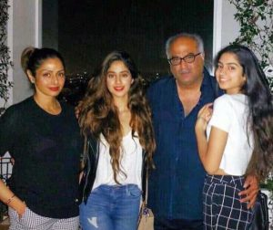 Bollywood Actress Sridevi's Family