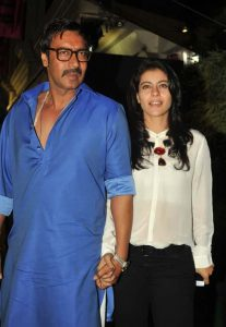 Kajol with Husband Ajay Devgn