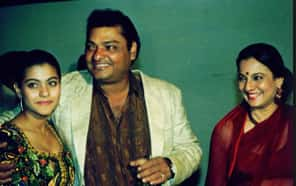 Kajol with her Father and Mother