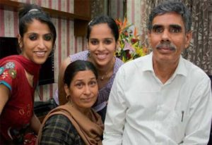 Saina Nehwal Family