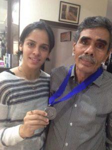 Saina Nehwal's Father
