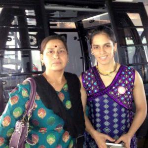 Saina Nehwal's Mother