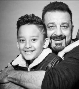 Sanjay Dutt and his Son
