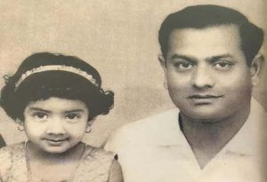 Sridevi With Her Father
