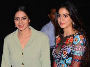 Sridevi's Daughter Janhvi Kapoor
