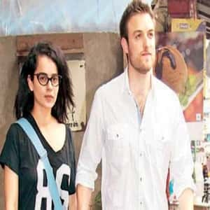 Kangana Ranaut with Rumored Boyfriend Nicholas Lafferty
