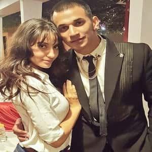 Prince Narula with Nora Fatehi