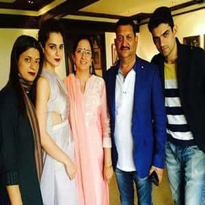 Queen of Bollywood-Kangana Ranaut Family