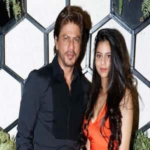 Shahrukh Khan with his Daughter Suhana Khan