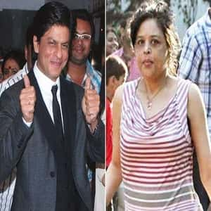 Shahrukh Khan with his Sister