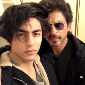 Shahrukh Khan with his Son Aryan Khan