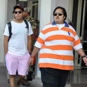 Akash Ambani and Anant Ambani