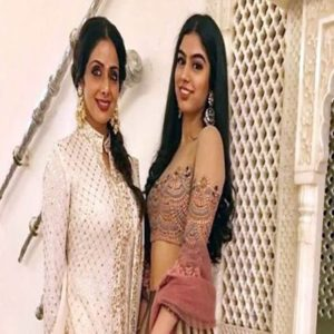 Khushi Kapoor with her Mother Sridevi Kapoor