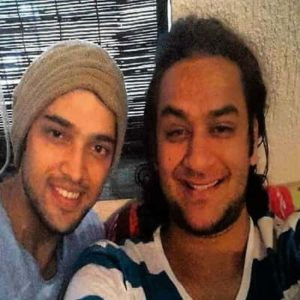 Parth Samthaan with Vikas Gupta
