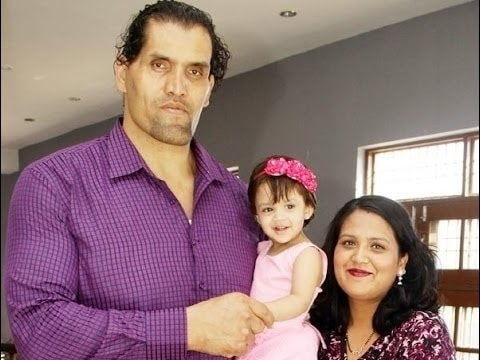 The Great Khali Family, Biography, Height, Diet, Wife, Career or More