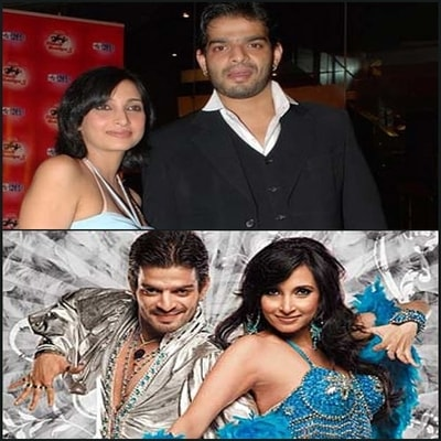 Karan Patel with his Ex Girlfriend Amita Chandekar