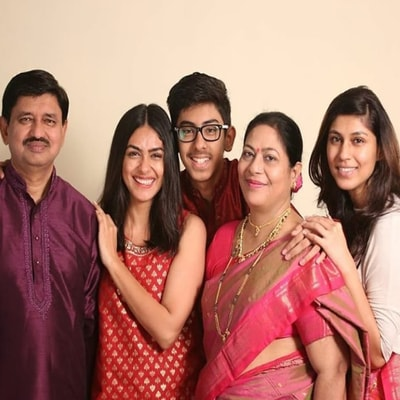 Image result for mrunal thakur family