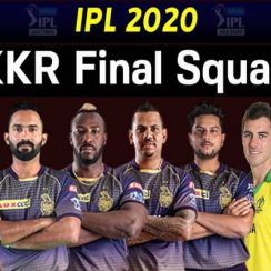 IPL Team Kolkata Knight Riders Players 2020 Complete List