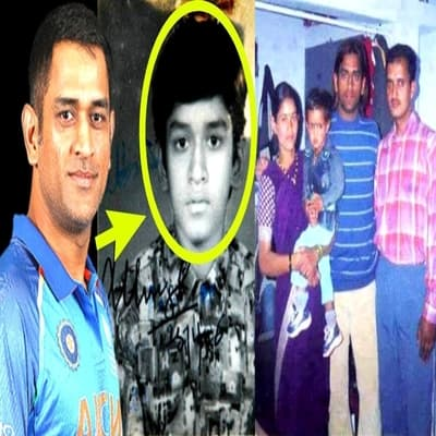 MS Dhoni Family, Wiki, Wife, Career, IPL, Gf, Record & More
