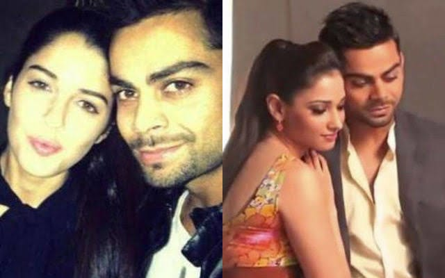 Virat Kohli Girlfriends List