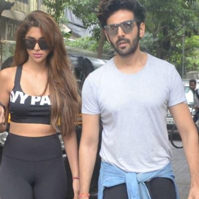Kartik Aaryan with his Rumored Girlfriend