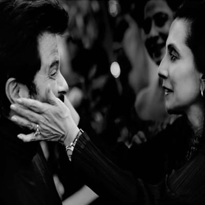 Anil Kapoor with his wife Sunita Kapoor